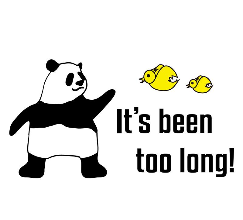 It's been too long! 絵