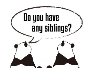 Do you have any siblings? 絵
