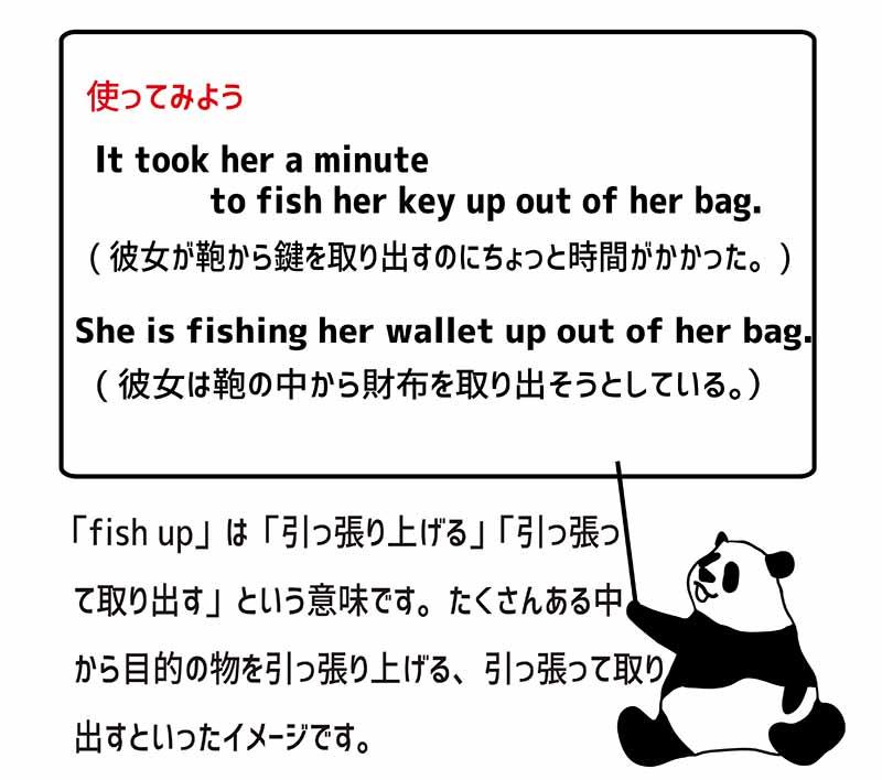 fish upの使い方