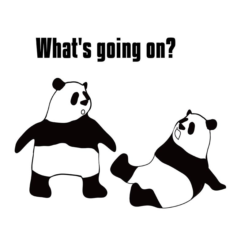 go onのパンダの絵
