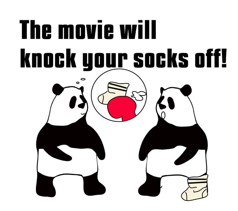 knock one's socks offのフレーズ