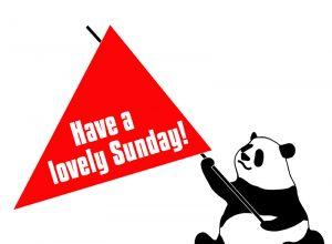 Have a lovely Sunday!