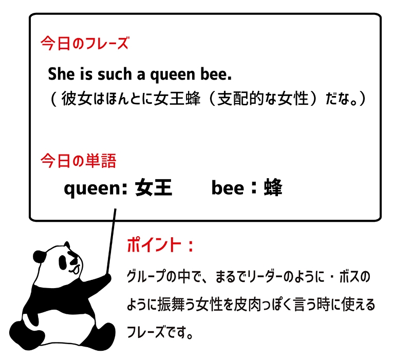 queen beeのフレーズ