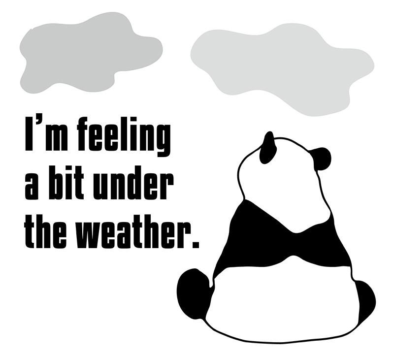 今日は天気が悪い 英語